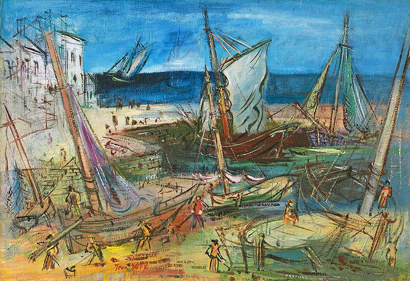 Port de pêche, circa 1935