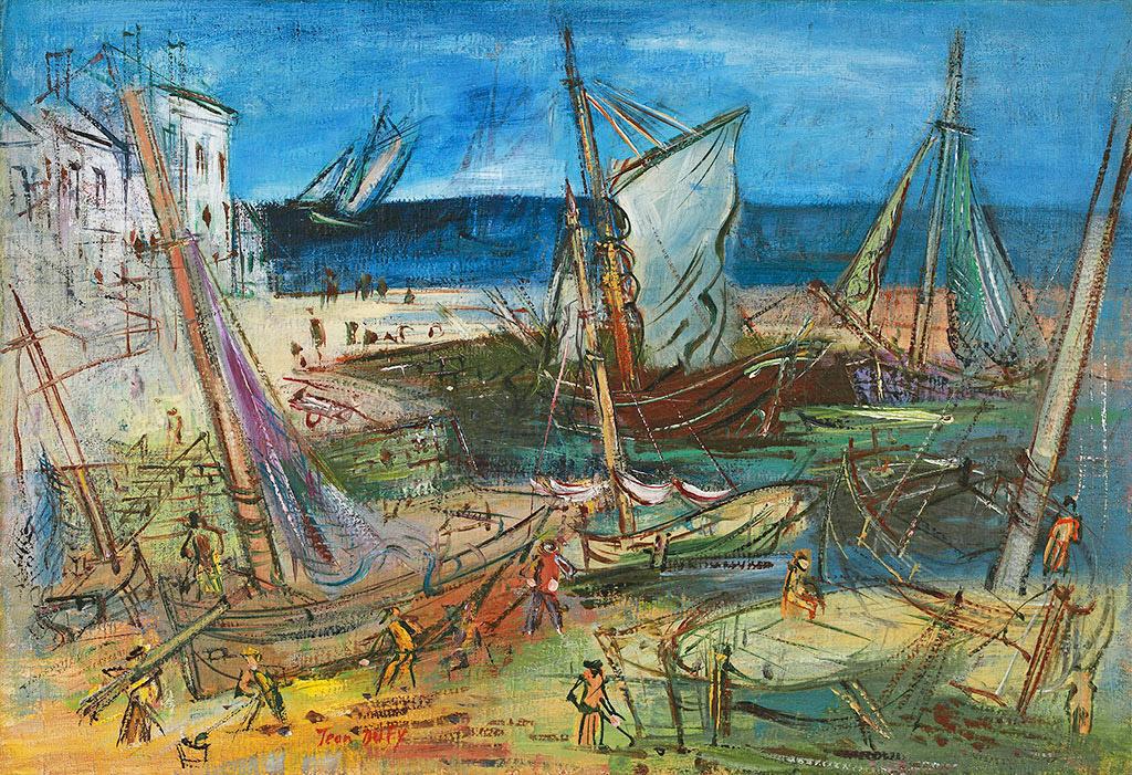 Port de pêche, ок. 1935 г.