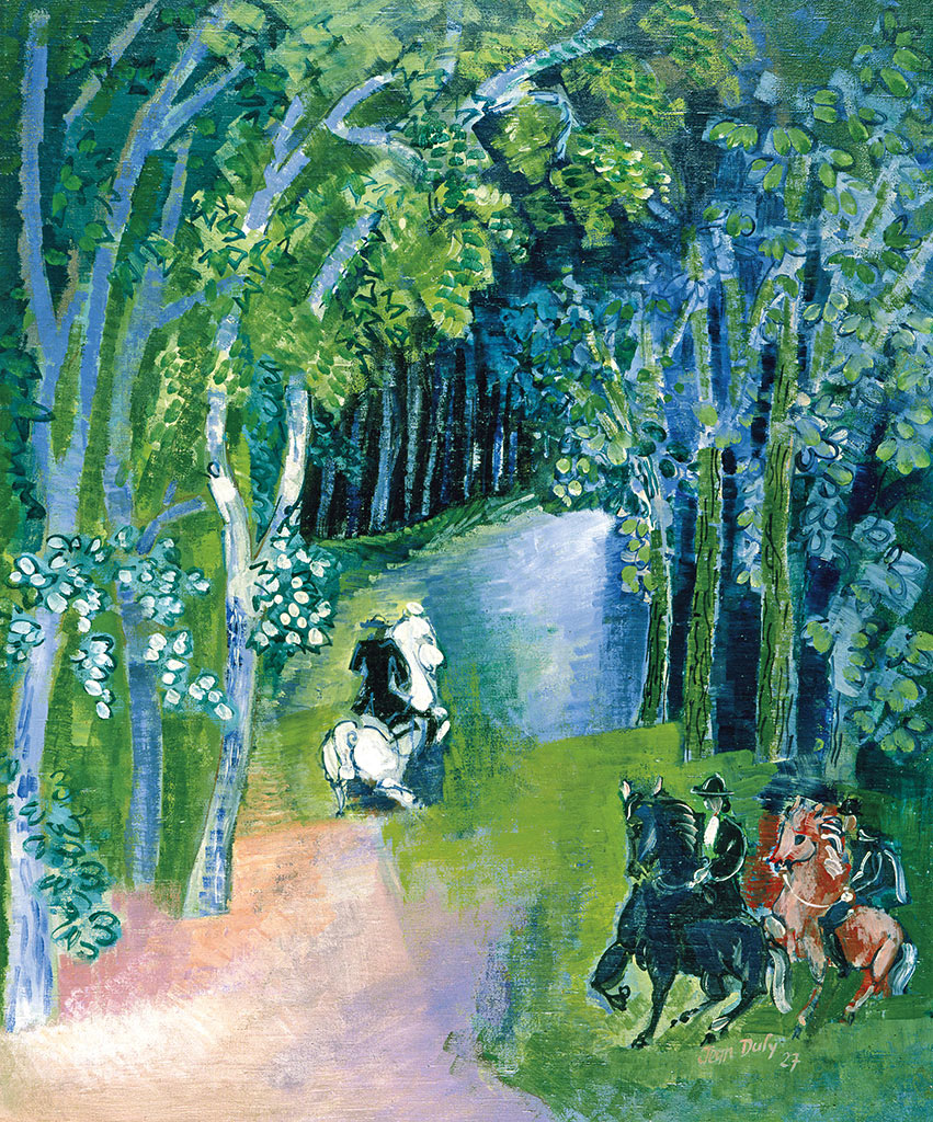 Allée cavalière, 1927