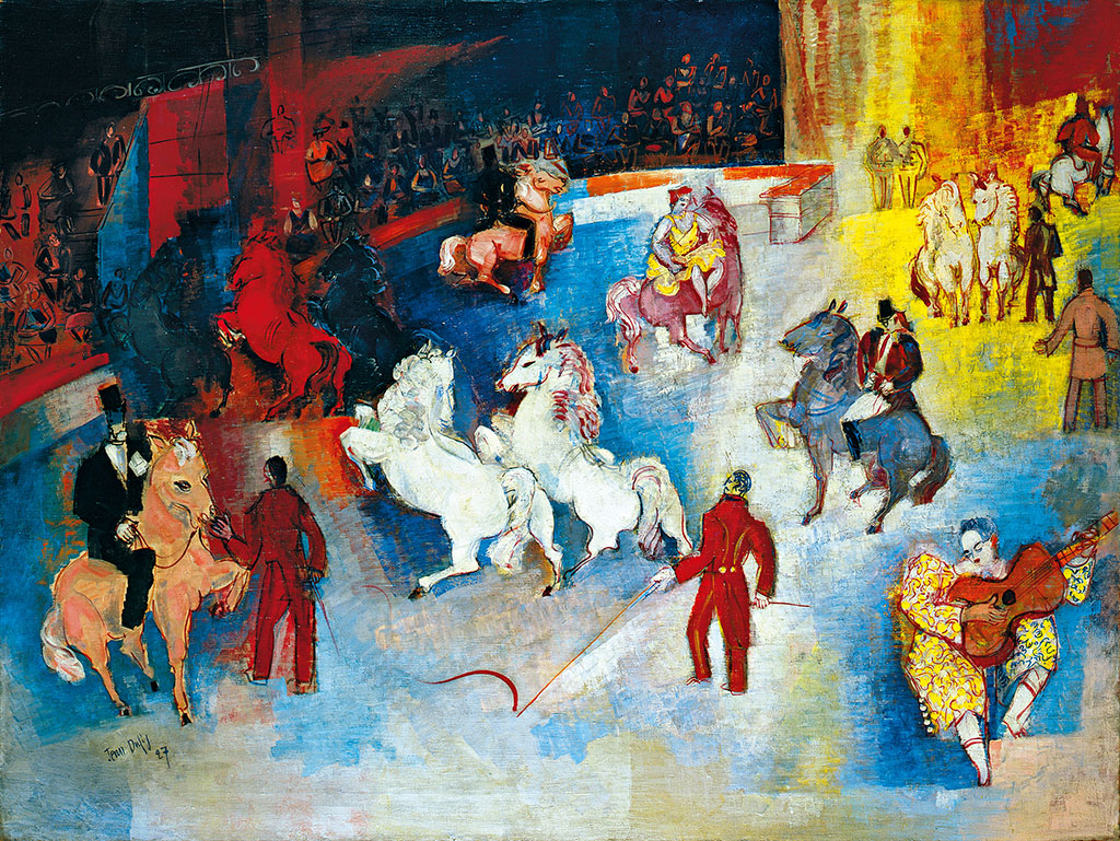 馬戲團, 1927年