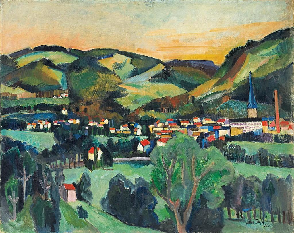 Валь-д'Ажоль (Вогезы), 1920 г.