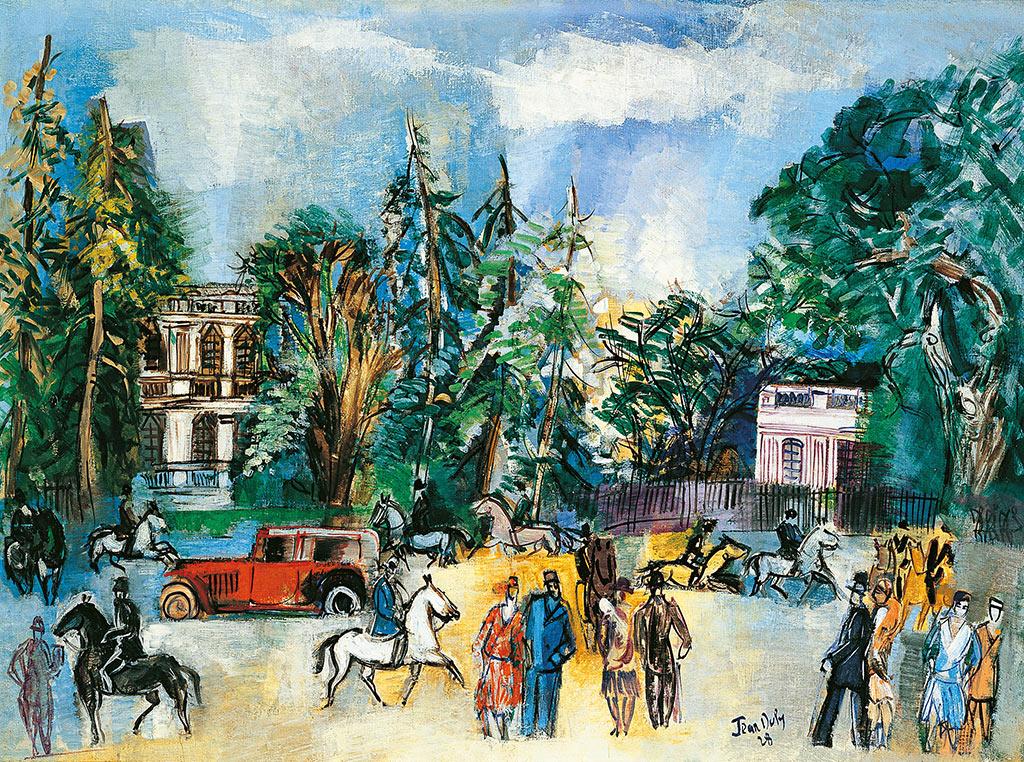 Paris, Porte Dauphine, 1928