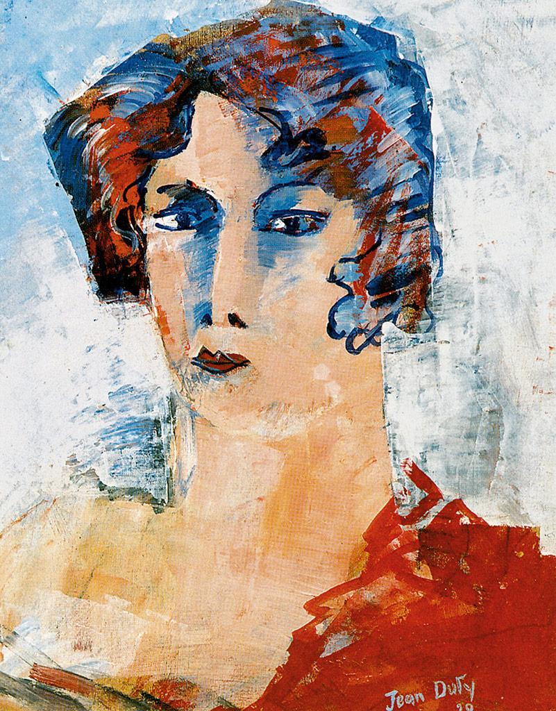 《女郎肖像》,1928年