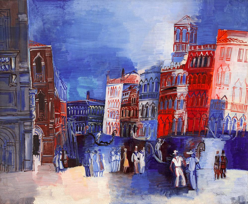 Venedig, Canale Grande, 1926