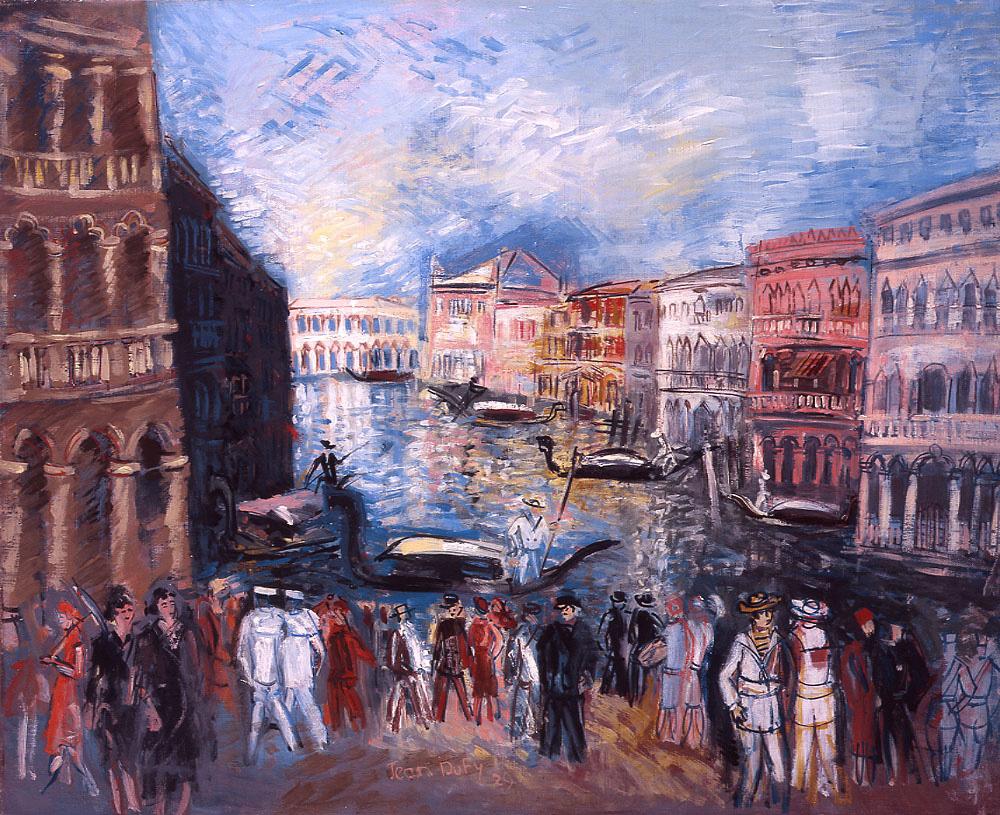 Venice, Grand Canal, 1929