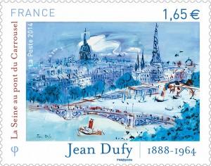 jean-dufy-timbre-poste-2014