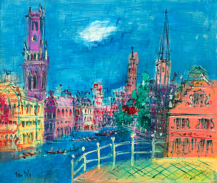 Bruges, circa 1950