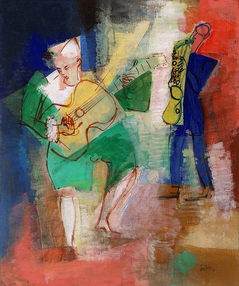 Clowns musiciens, 1926