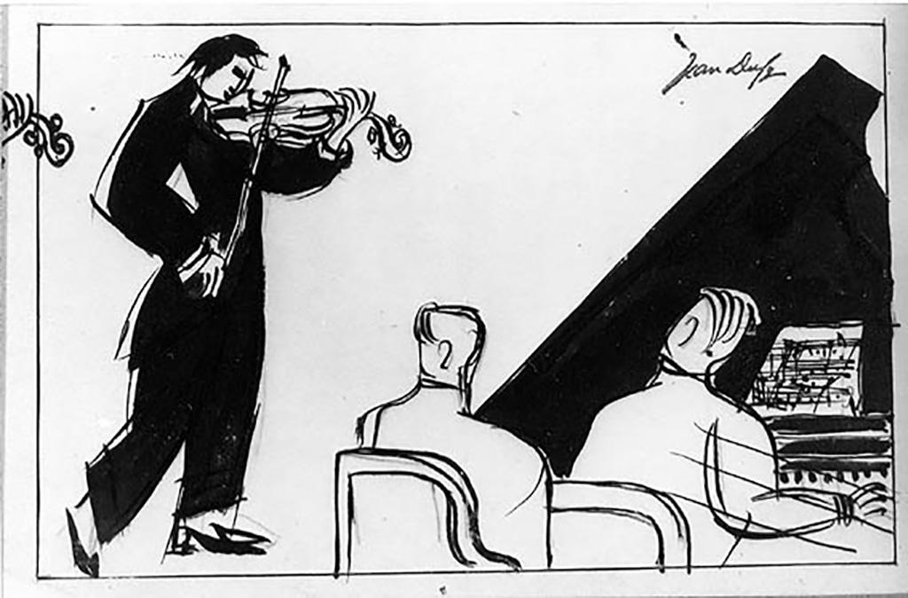 Duo pour violon et piano, 1928