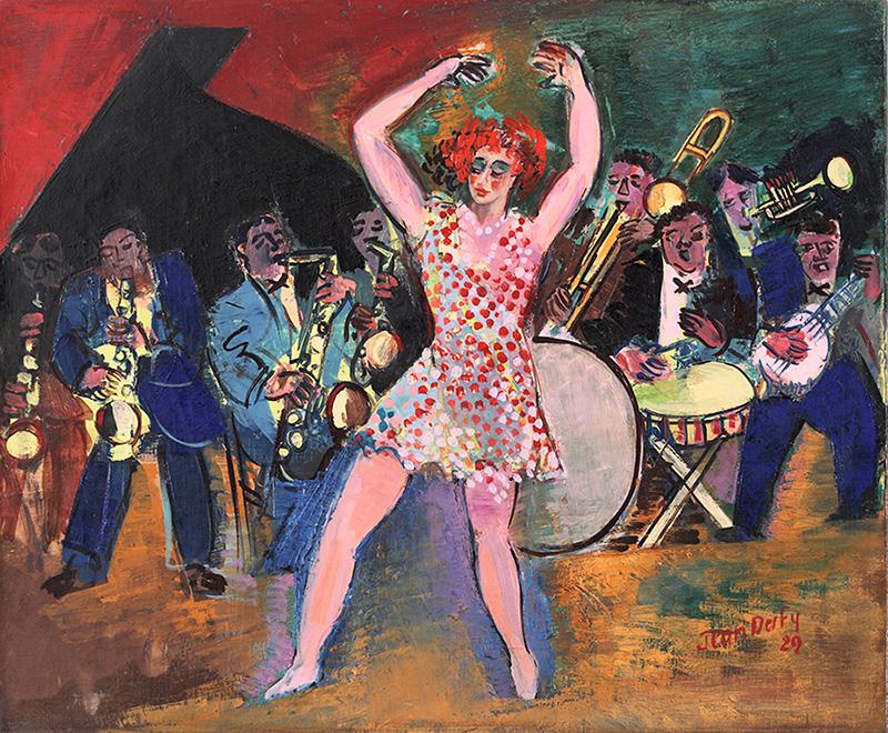 Au cabaret, 1929
