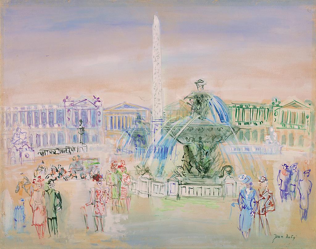 Place de la Concorde, circa 1947-48