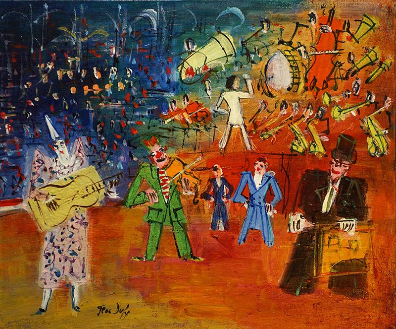 Le trouble-fête, circa 1948-50