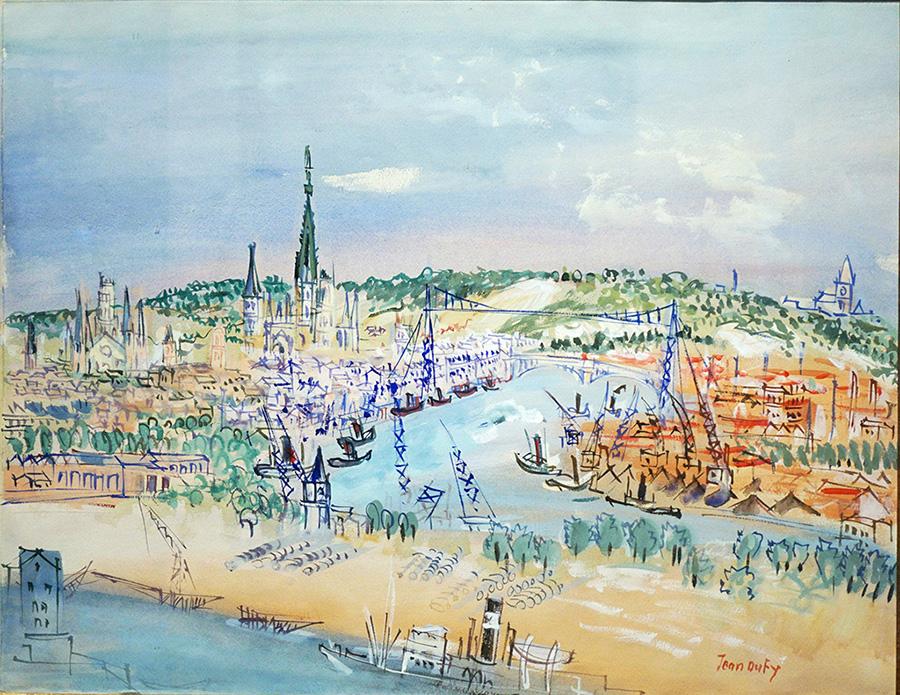 Port de Rouen, circa 1946